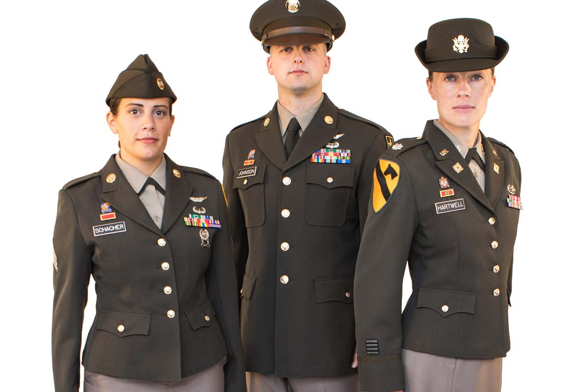 Army Close to Finalizing Pinks and Greens Uniform for All ... - photo#25