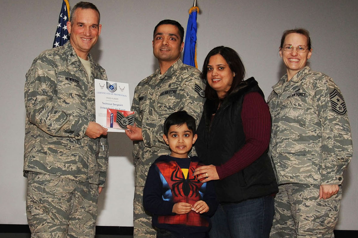 Air Force Identifies 7 501 For Promotion To Technical