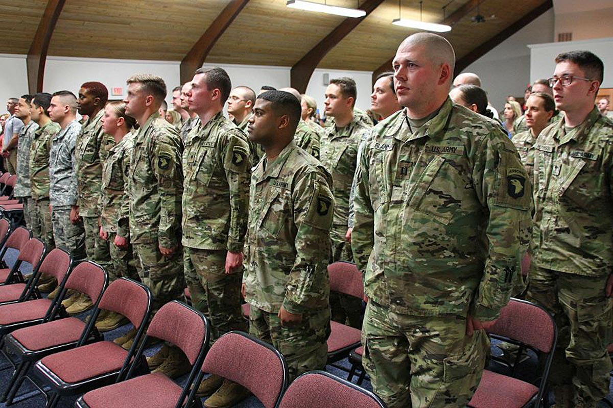 Kentucky National Guard Unit Deploying With 101st Airborne