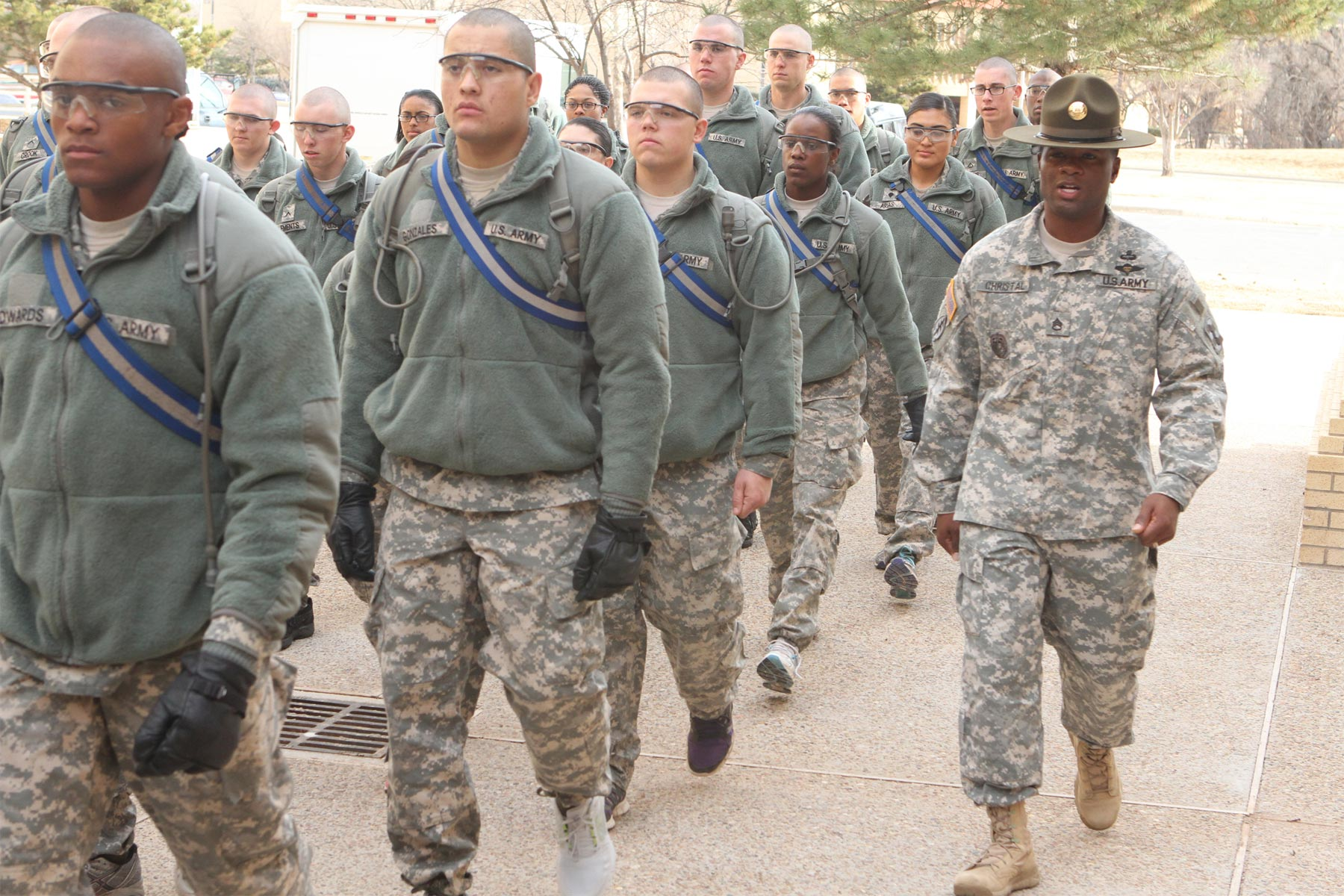 low recruit discipline prompts army to redesign basic