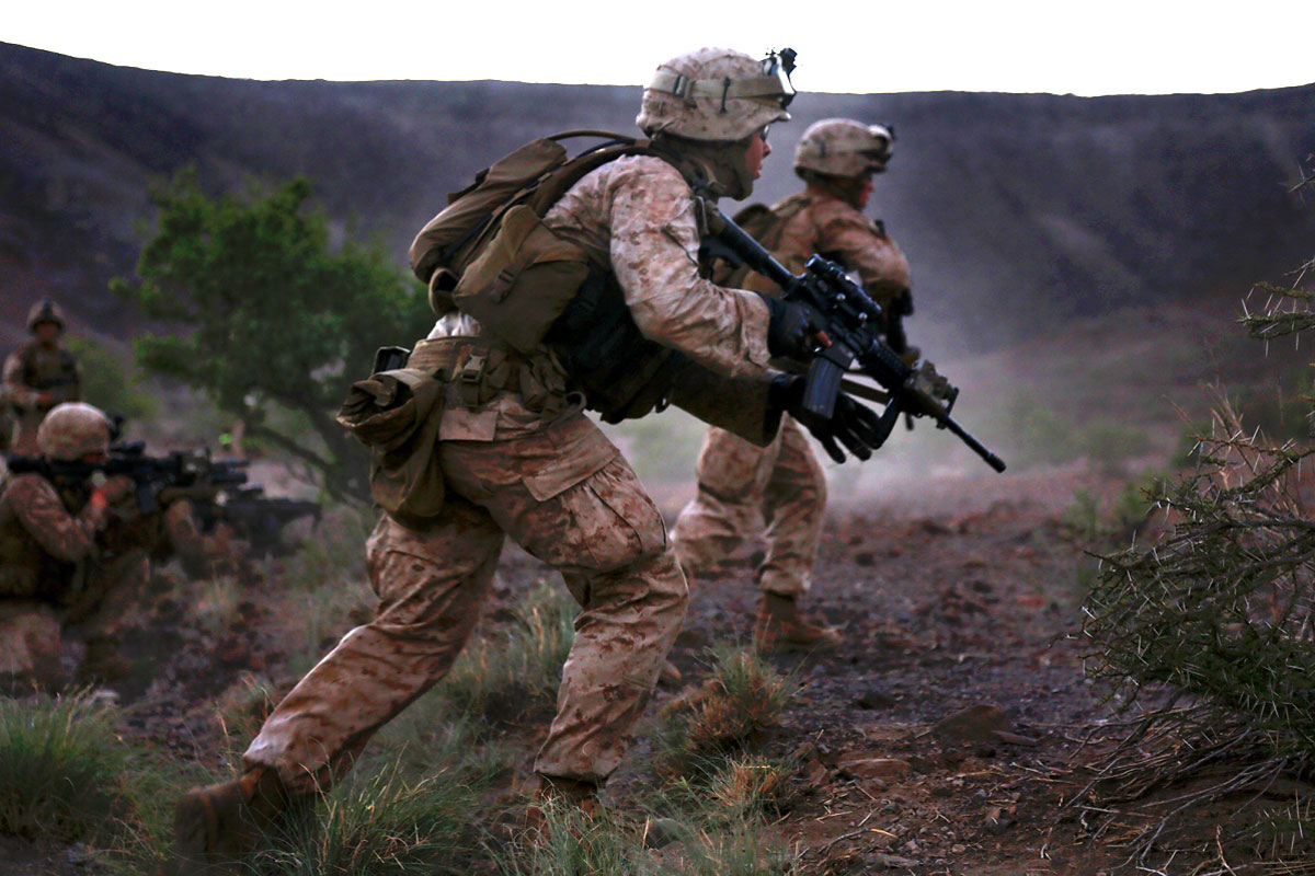Marines Want Lighter Armor Plates To Help Infantry Move
