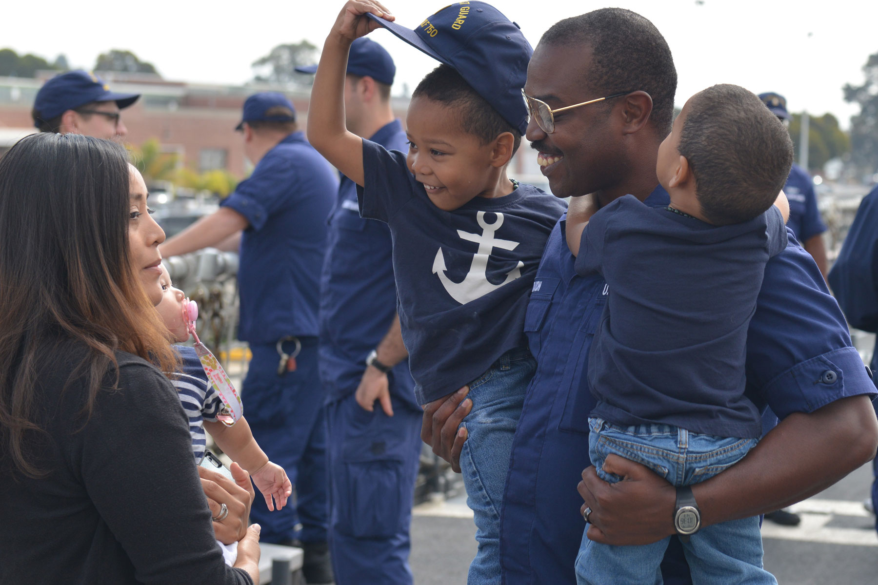 Coast Guard Cutter Returns Home Following Participation in RIMPAC