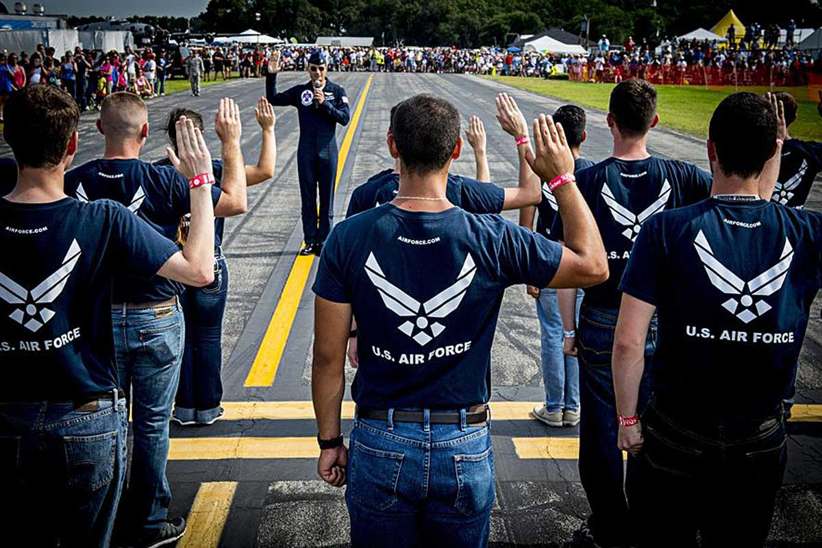 Air Force Admits Nearly 2,000 Airmen Under Medical Waiver