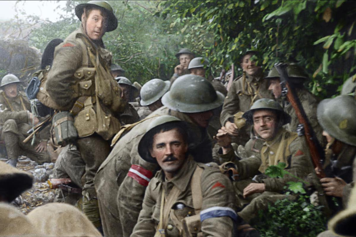 Peter Jackson S Documentary They Shall Not Grow Old
