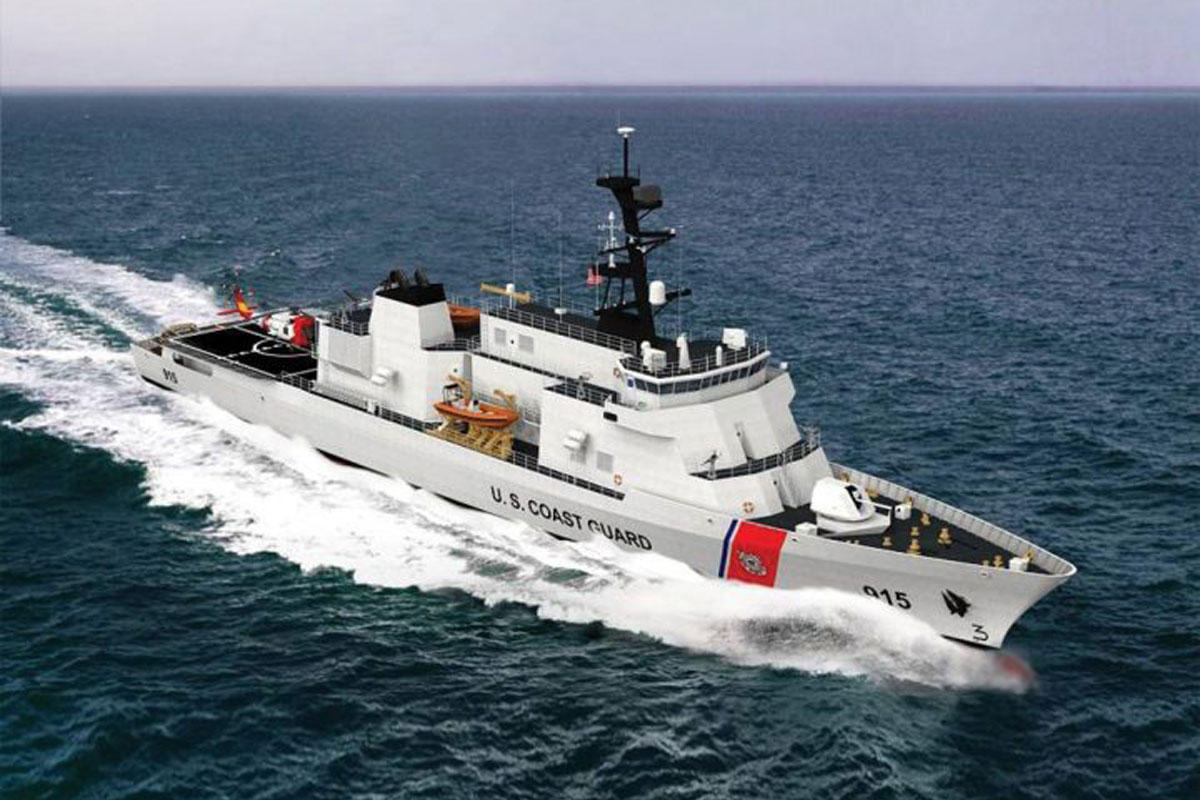 Small Motor Adds Powerful Punch To Coast Guard S Next