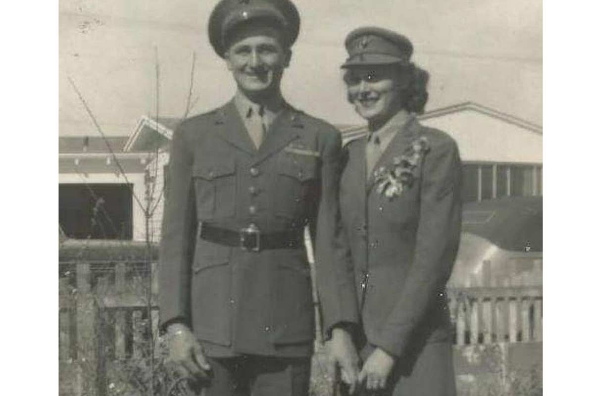 Two Marines Who Met in a Burger Joint Celebrate Their 75th Wedding Anniversary