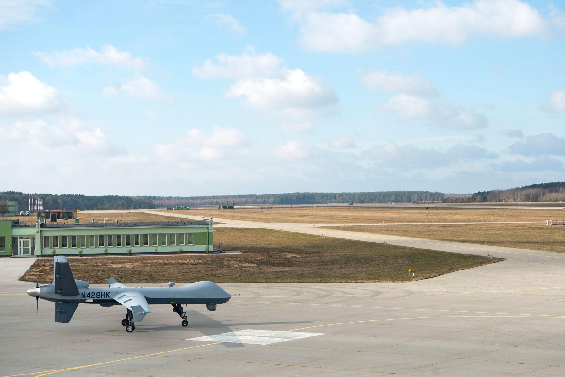 MQ-9 Reaper Drone Operations Begin at Polish Air Base