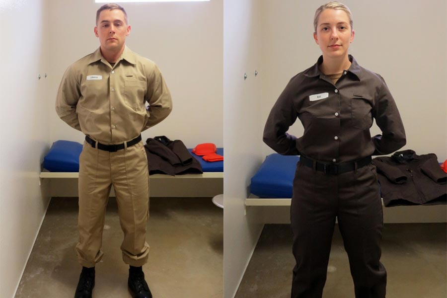 Navy Adds Color Coding To Prisoner Uniforms To Avoid Brig