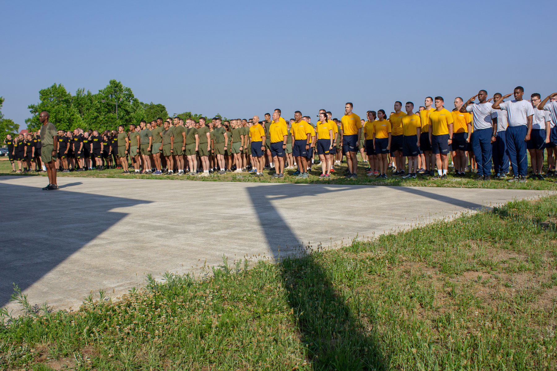 10-Day Tribute Run at Fort Gordon Honoring Fallen Marines, Sailors Concludes