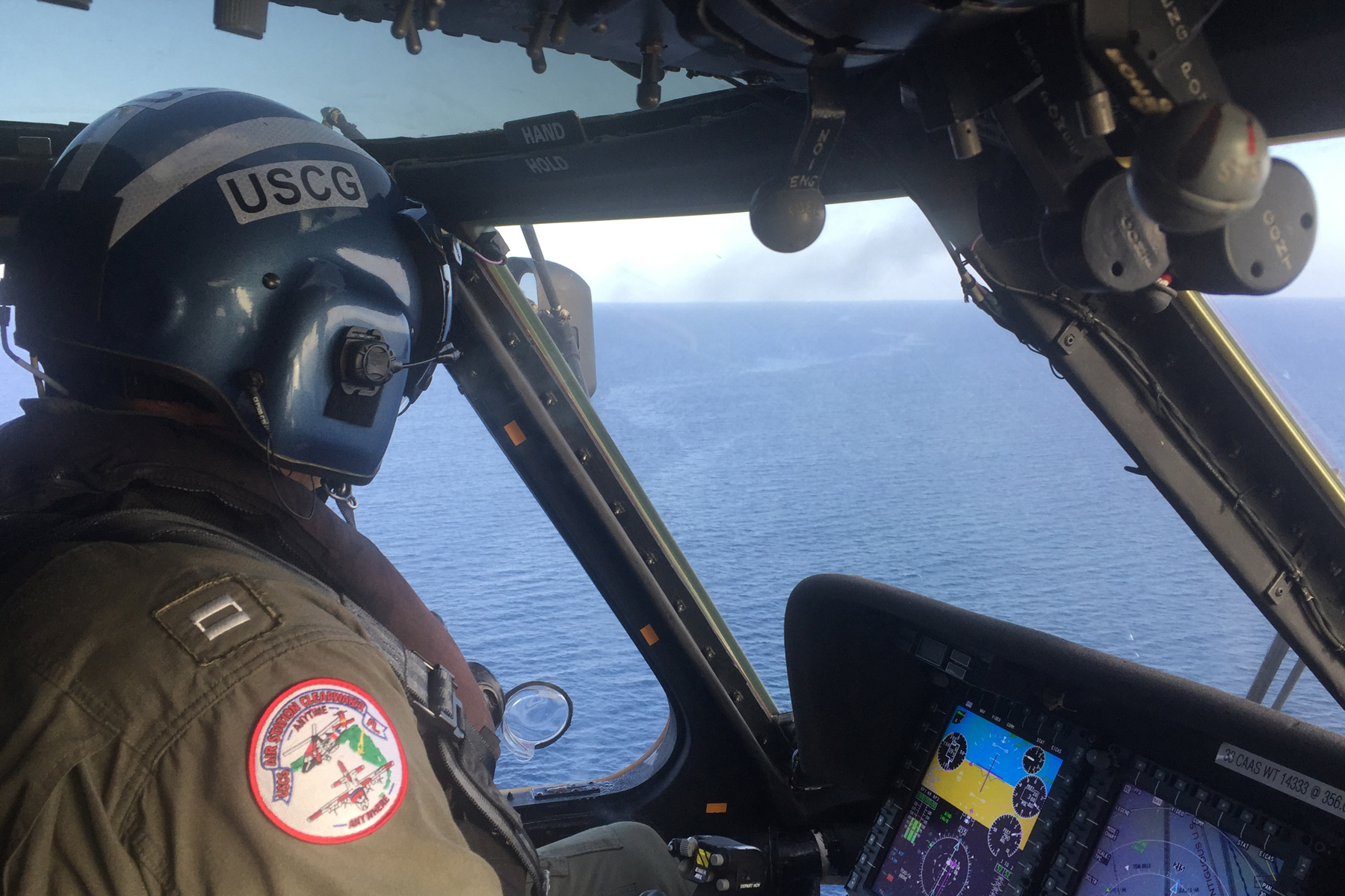 Coast Guard Suspends Search for Firefighters Who Went