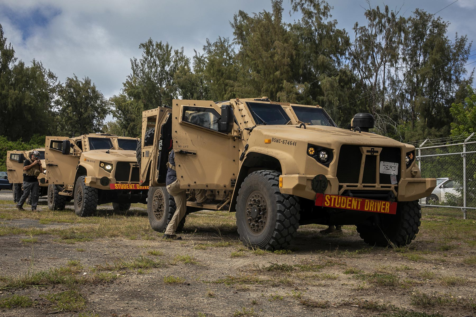 US Marines • Driving the the Joint Light Tactical Vehicle
