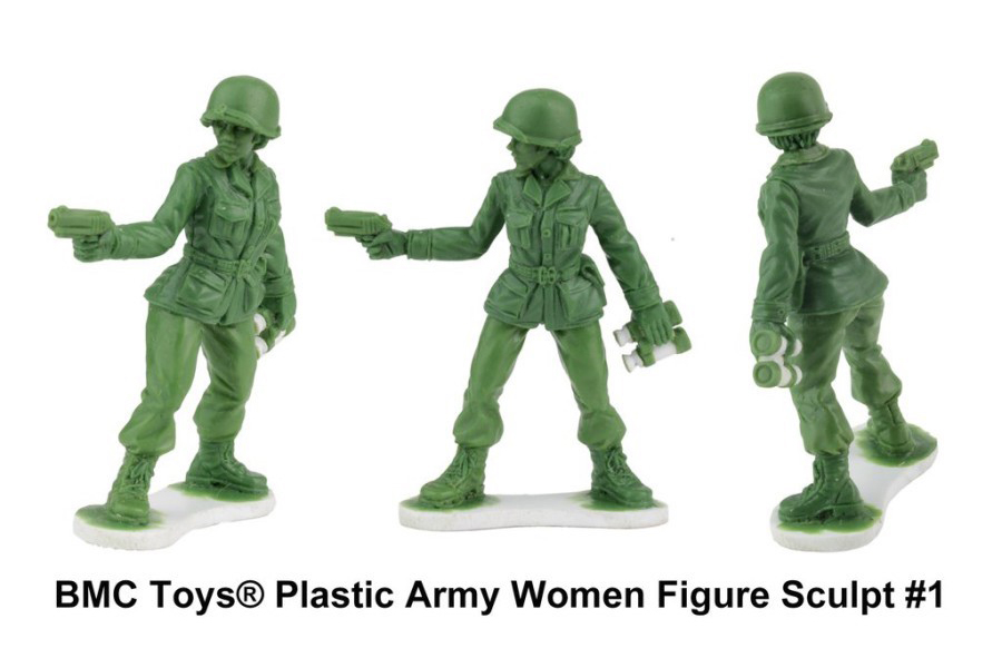 Female Figurines Will Join the Ranks of the Iconic Green Army Men