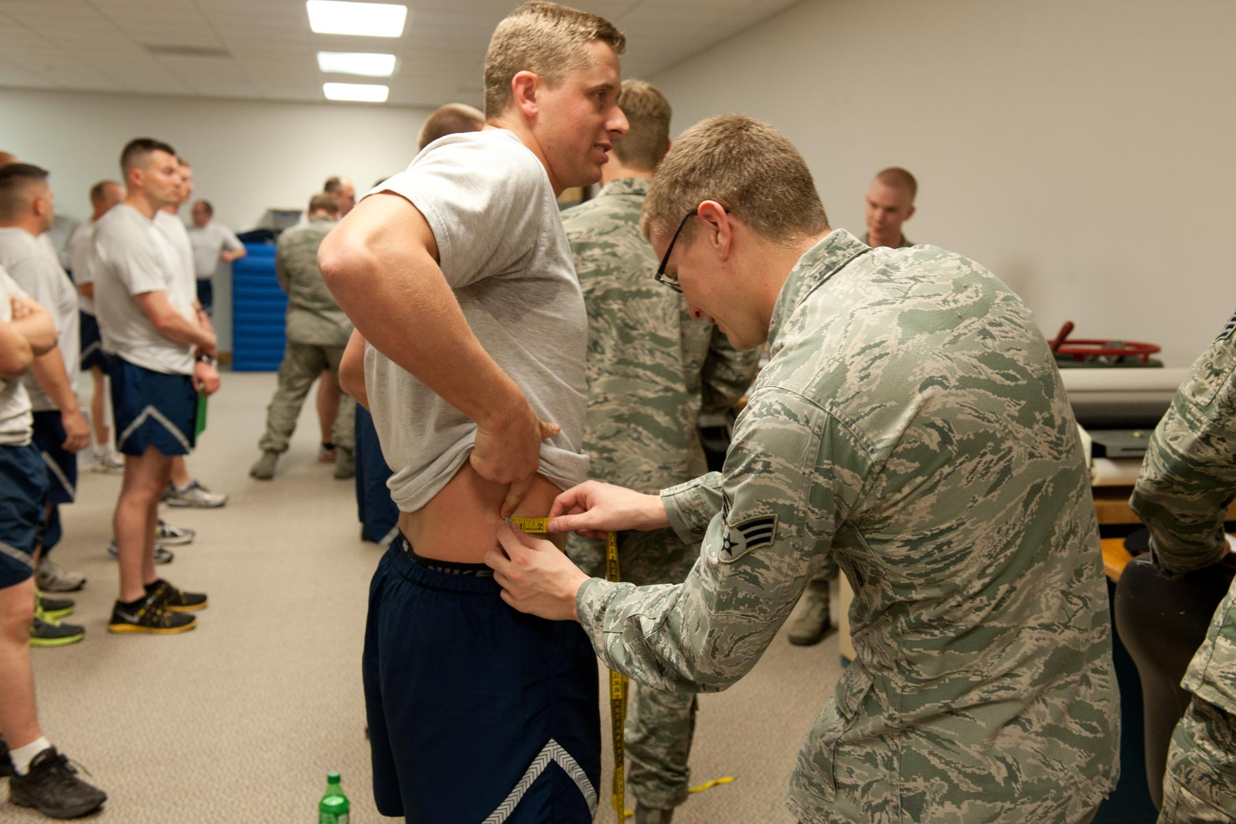 after pt deaths  air force weighs separating waist