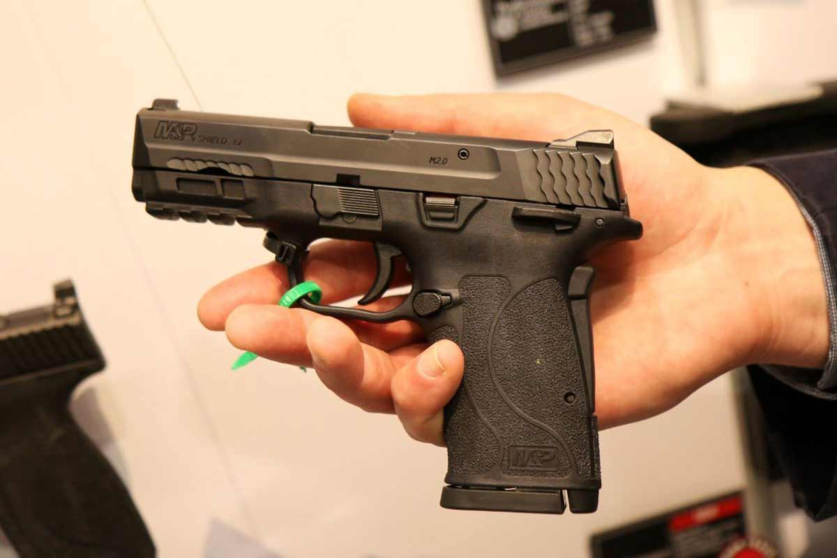 Smith & Wesson Shows Off New Easy-Rack 9mm Pistol