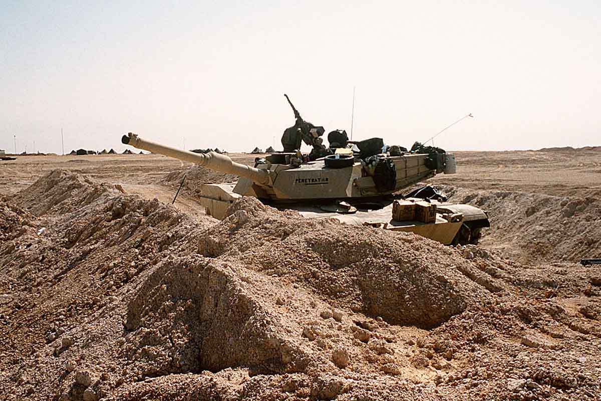 The 'Bulldozer Assault' of Desert Storm Saw the US Army Opt Out of Trench Warfare