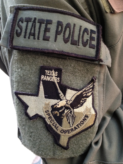 the alpha holster   and texas rangers