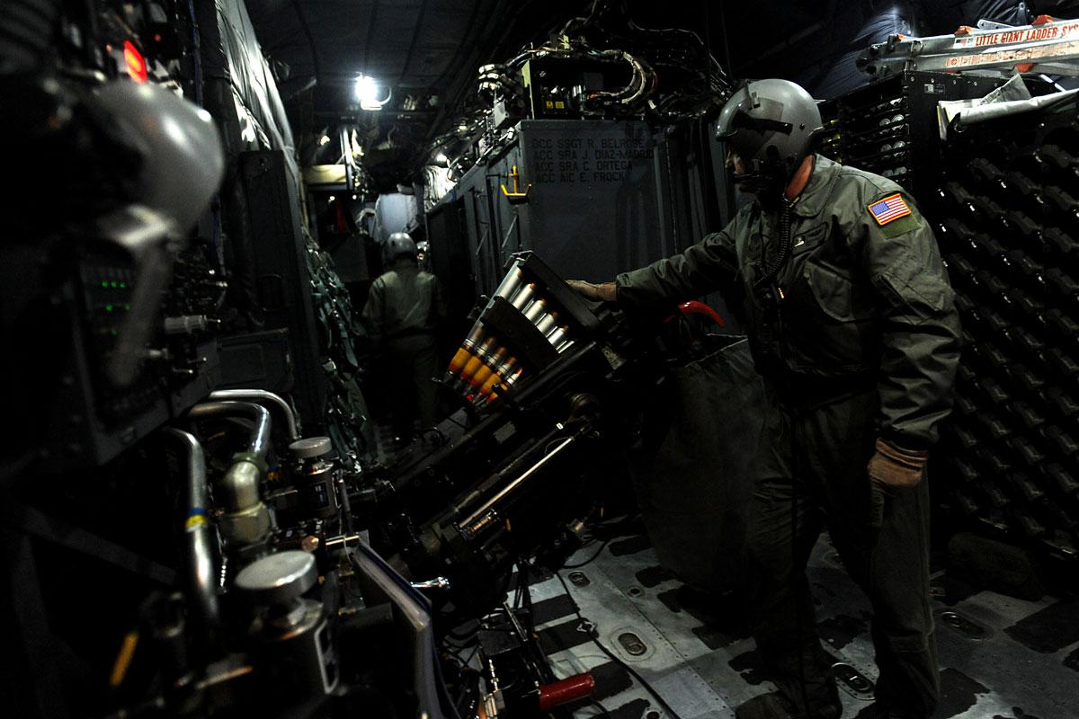 Ac 130h U Gunship Military Com