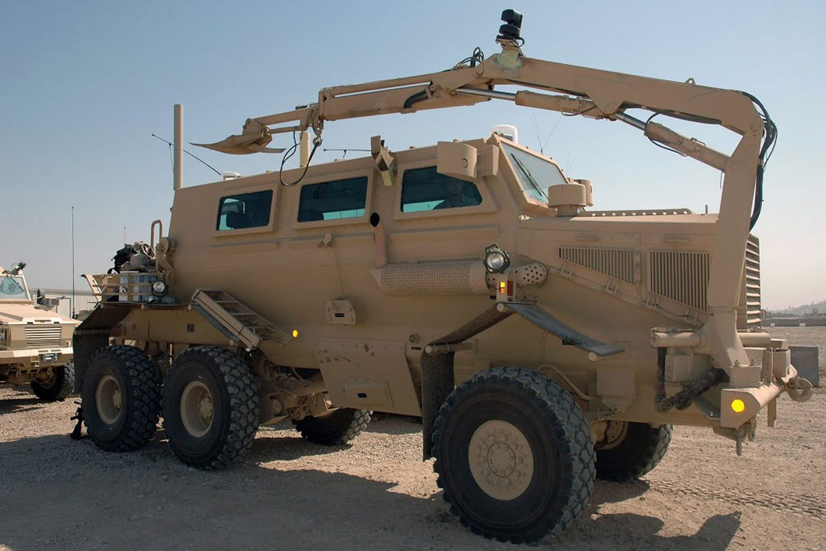 buffalo mine protected route clearance vehicle military com