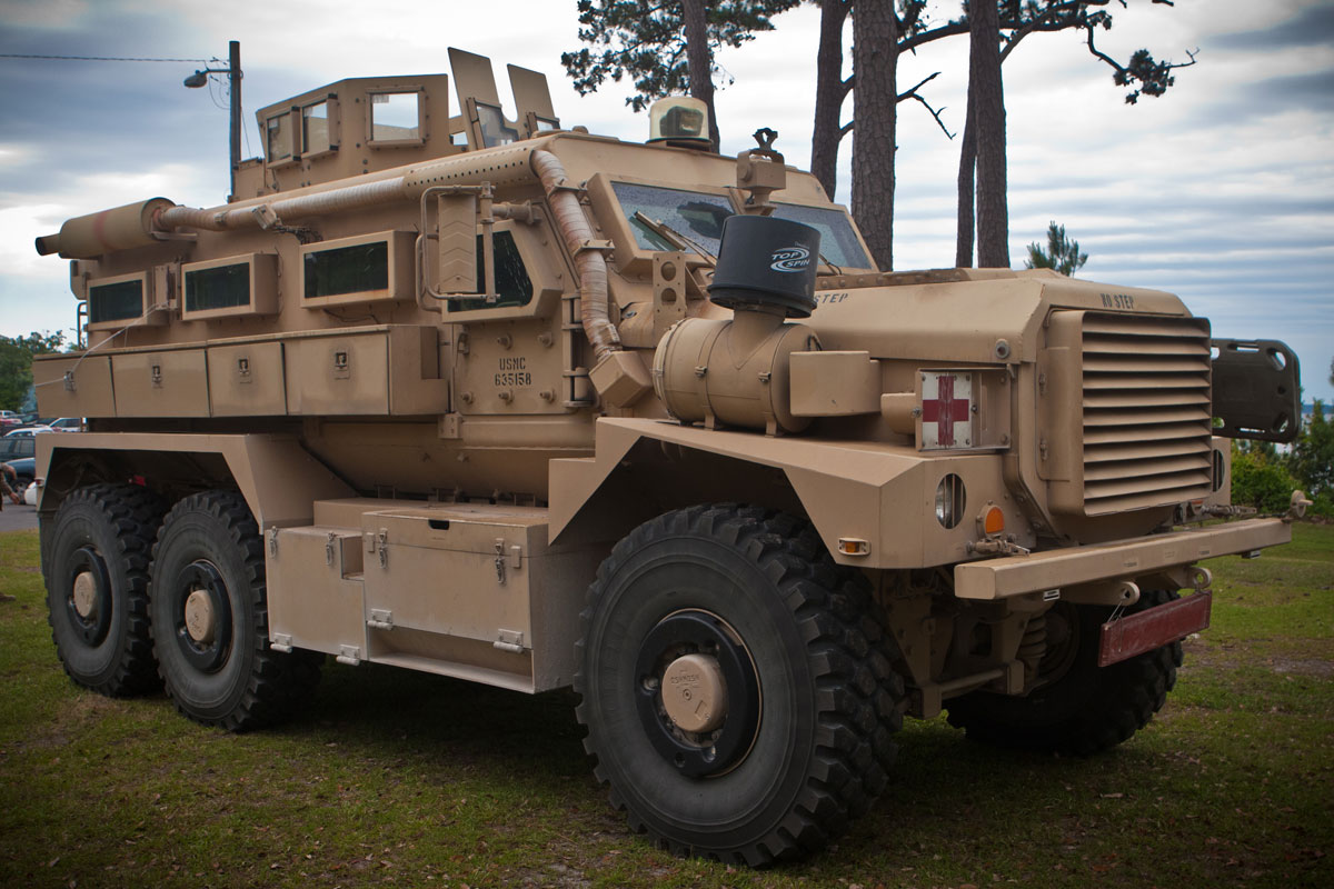 Cougar 6x6 MRAP | Military com