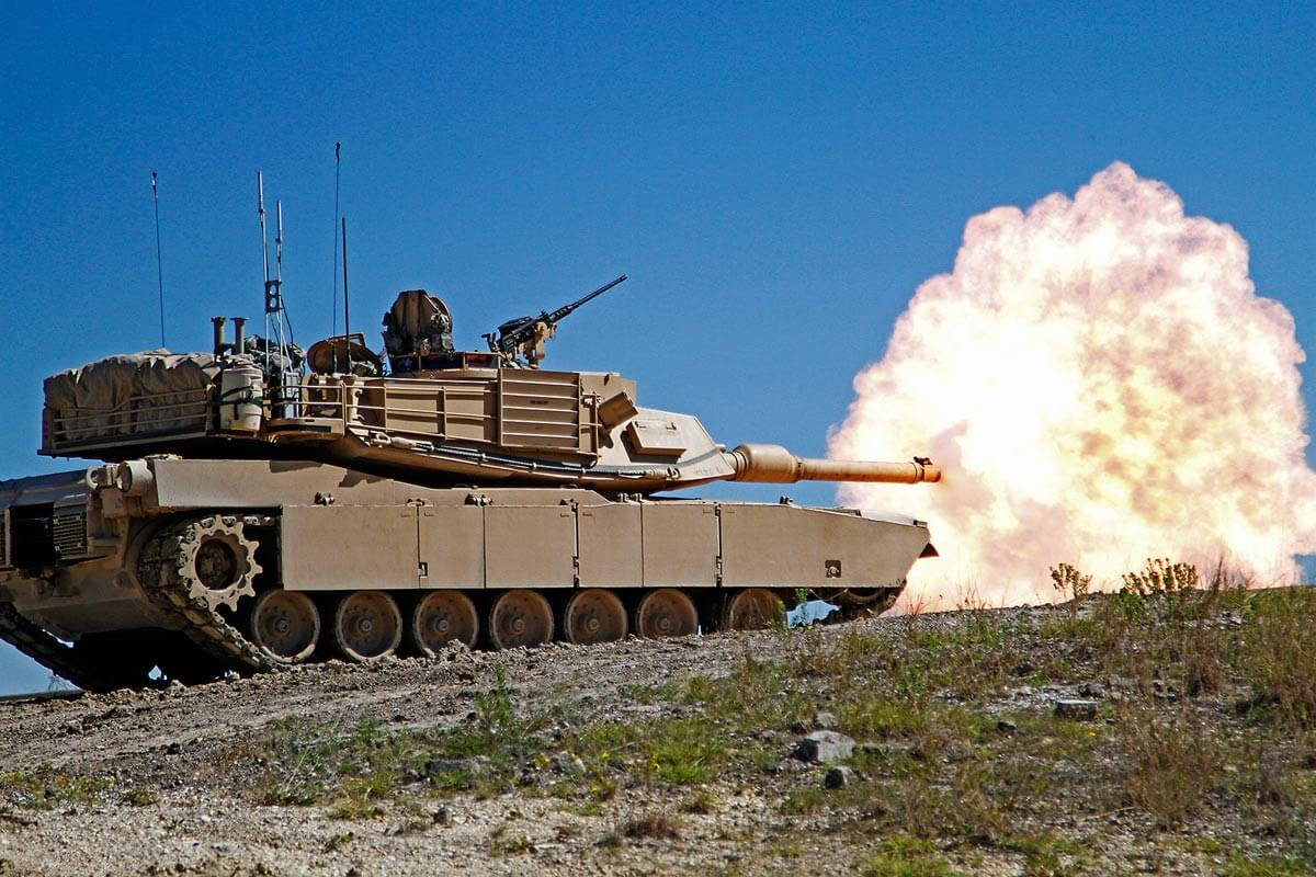M1A2 Abrams Battle Tank