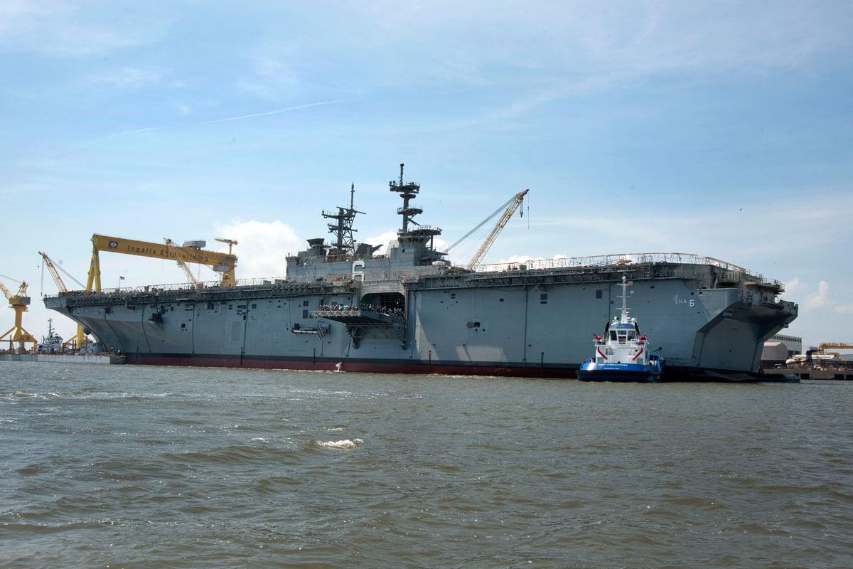 Lha R America Class Amphibious Assault Ship Military Com