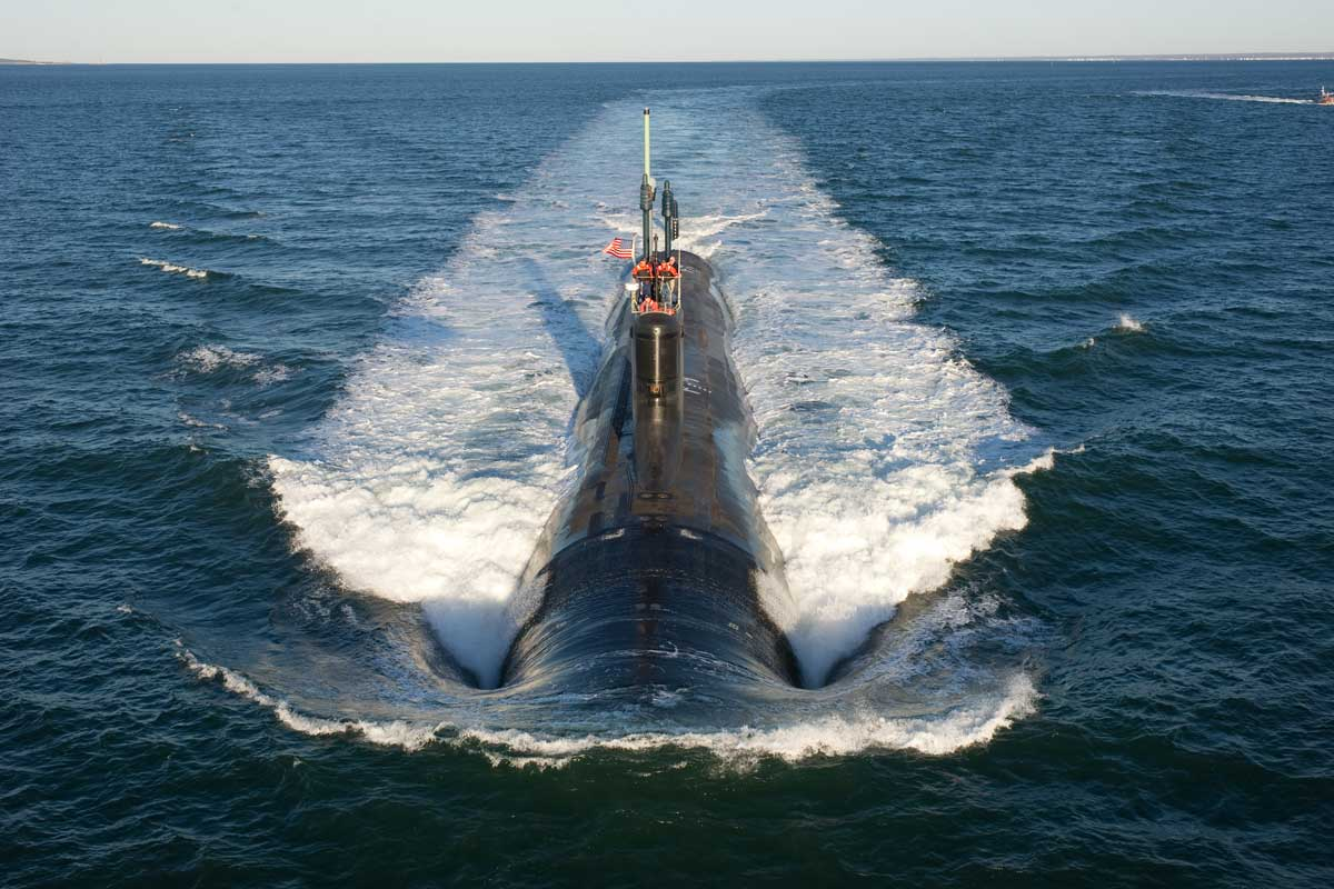 Virginia Class Attack Submarine] | Military.com