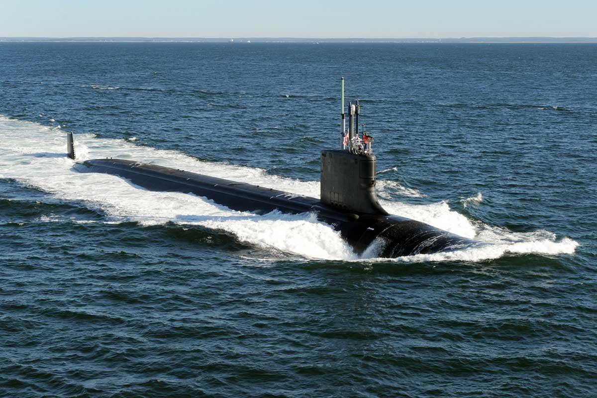 Virginia Cl Attack Submarine] | Military.com