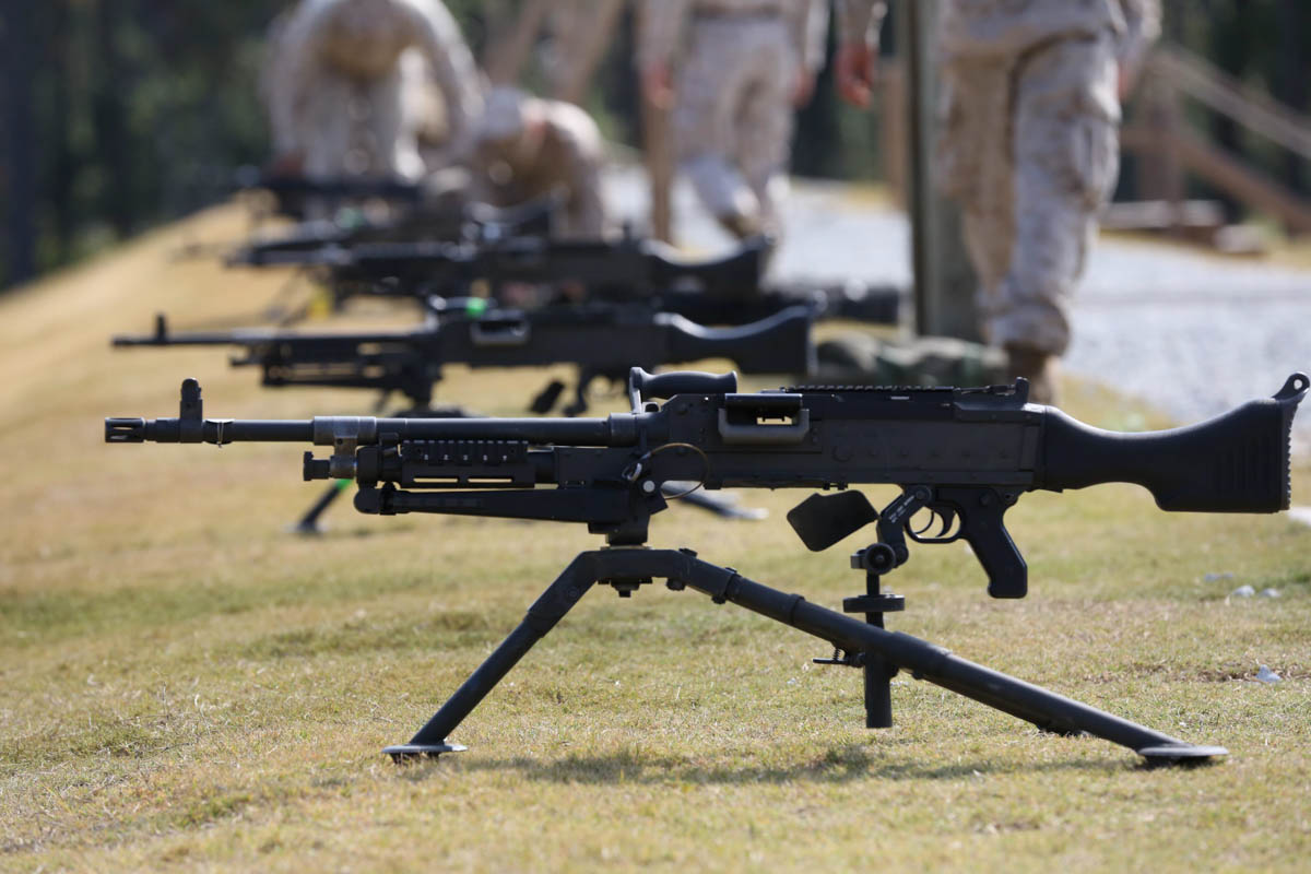 United States Army Fact File The M-240B MACHINE GUN