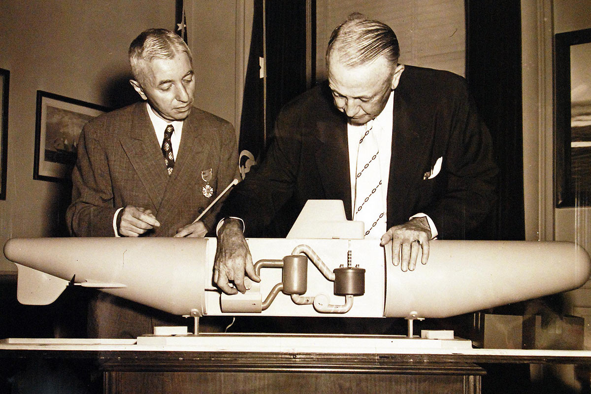 Admiral Hyman G Rickover  Taking