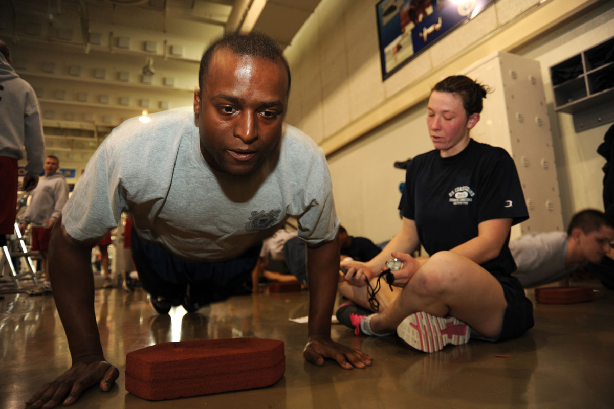Uscg Physical Fitness Assessment Pfa Military Com