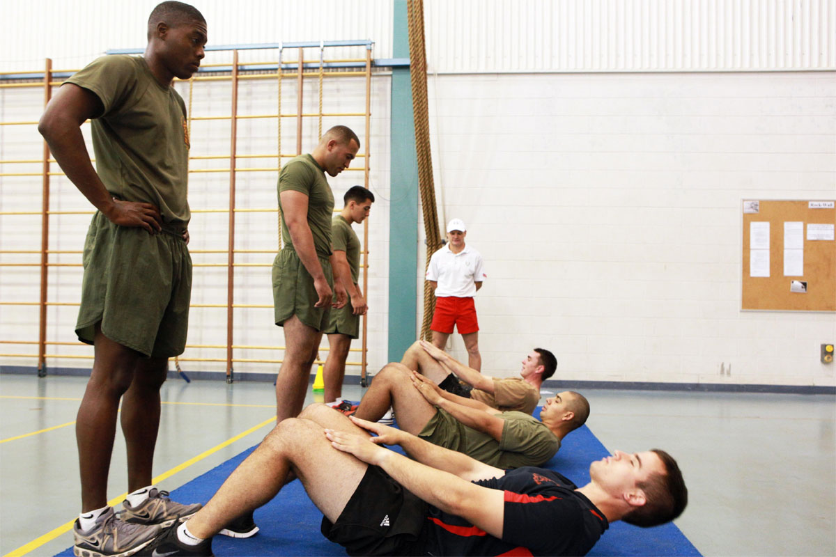 6234f7004ac Marine Corps Physical Fitness Test (PFT)