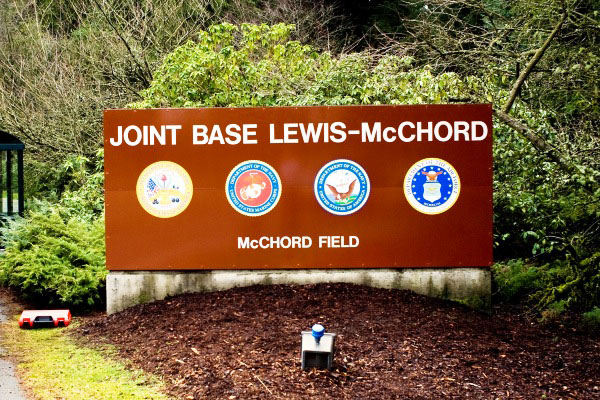 Washington state army base fort lewis