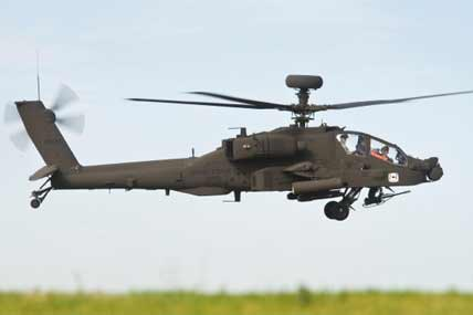 JBLM Soldier Shoots Apache Helo with Live Rounds, Grounding Exercise