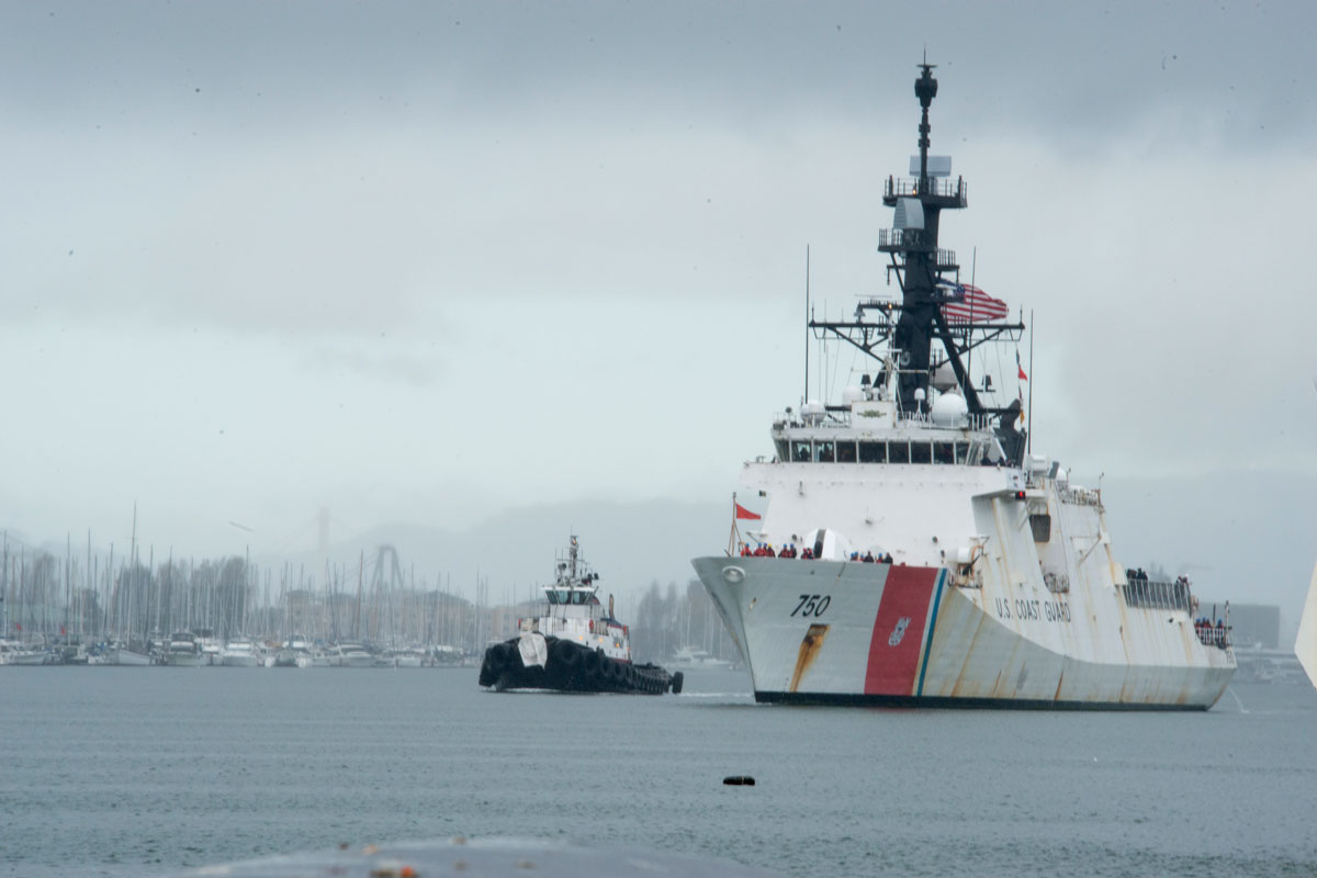 Cutter Deploys to Western Pacific As Coast Guard Remains Unpaid