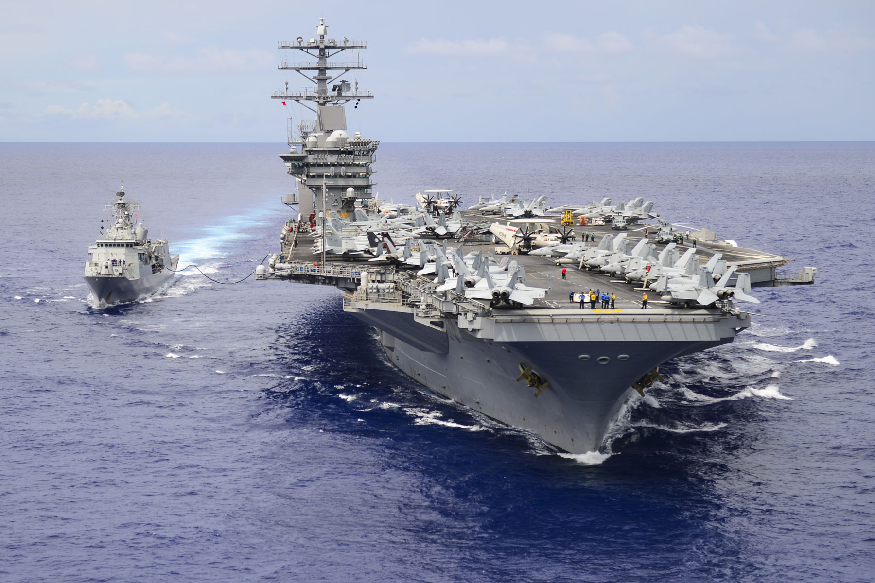 navy extends uss nimitz stay in middle east