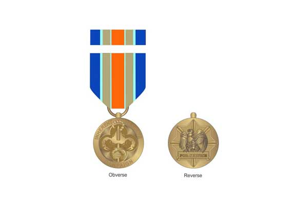 DoD Reveals Operation Inherent Resolve Medal for Campaign
