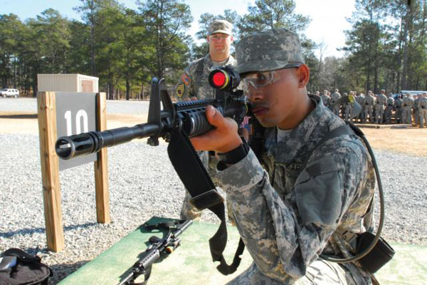 Discovering The Weapons Used In Basic Military Com