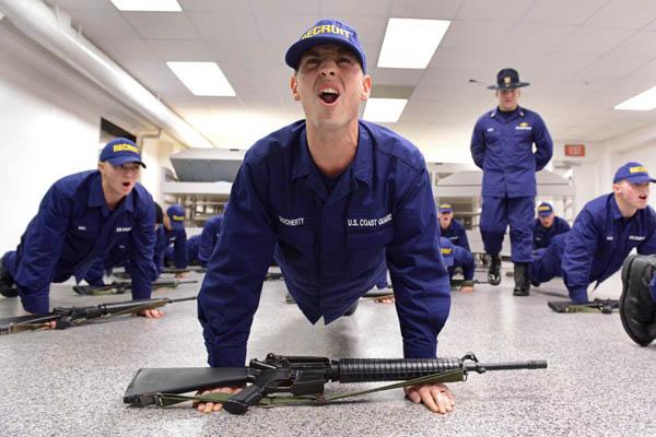 Coast Guard Marksmanship Qualification Course Military Com