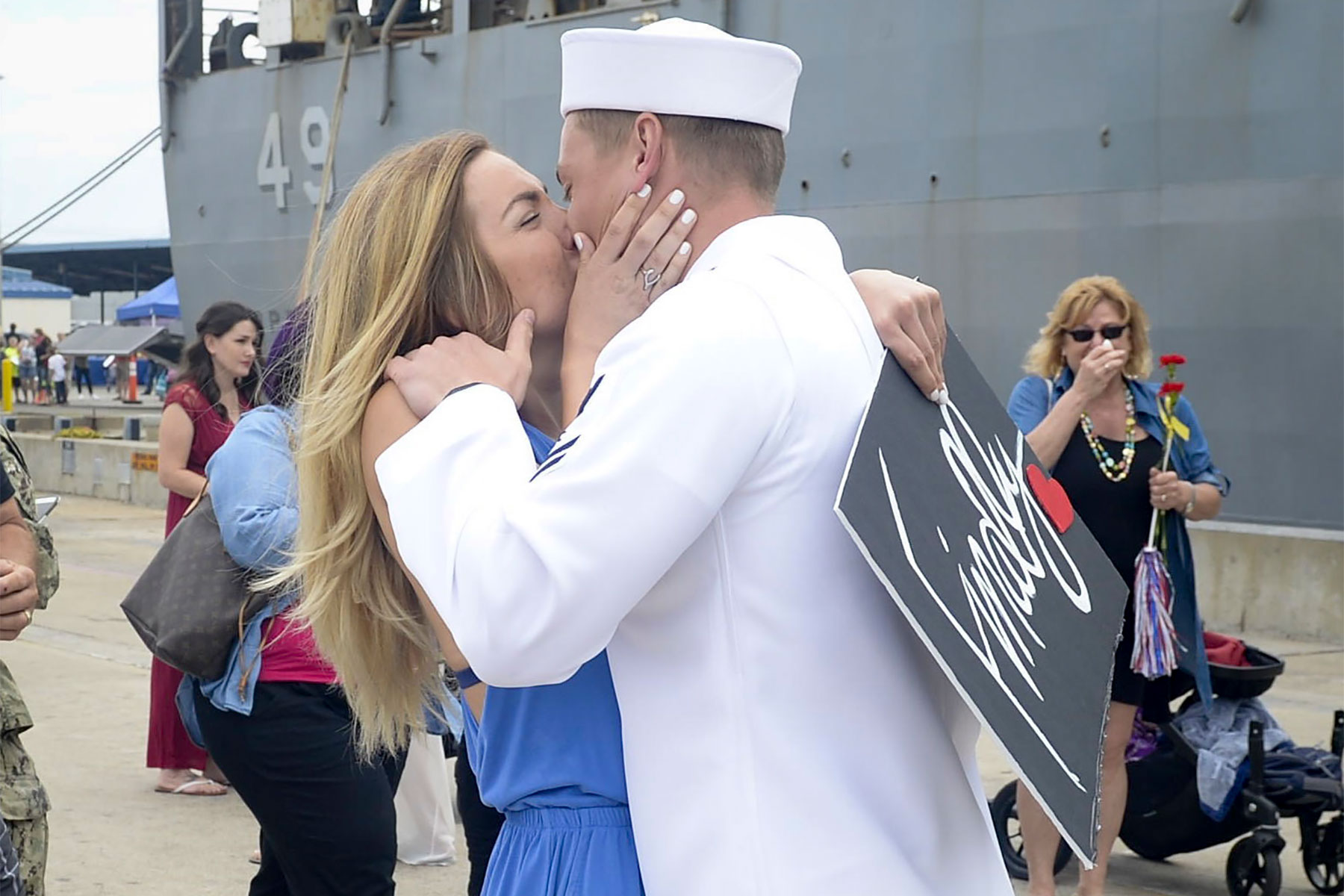 Photo US Navy Mass Communication Specialist Seaman Kryzentia Weiermann 18 Quotes For Military Spouse Appreciation Day