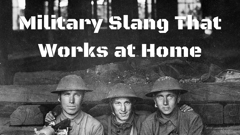 top 10 military slang phrases