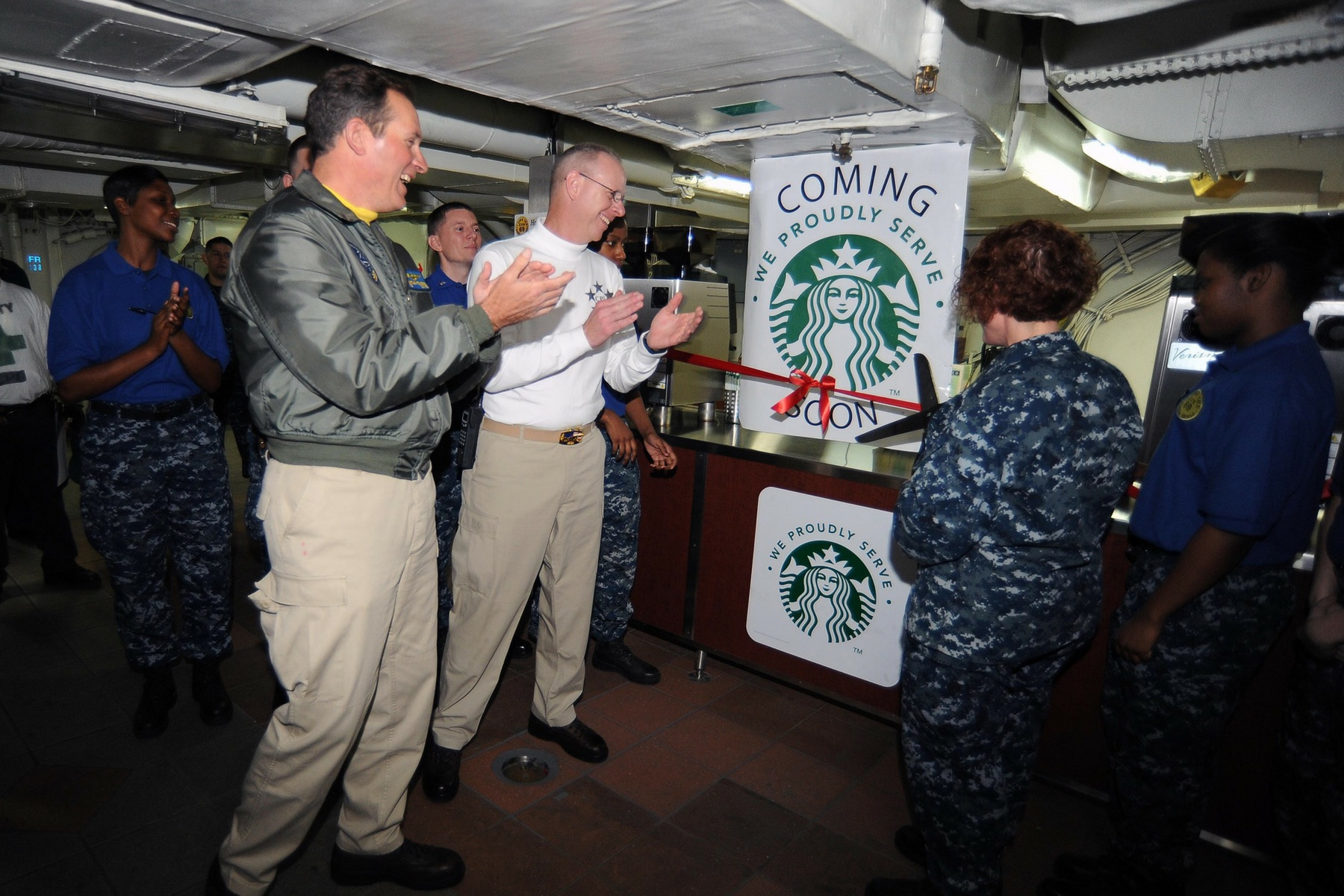 starbucks to open 100 more military family stores