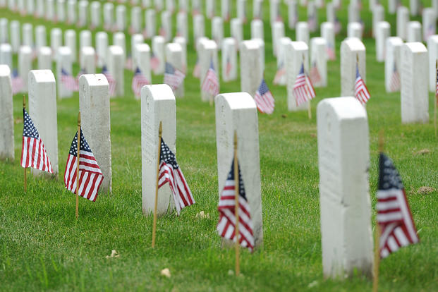 You can have your burial pre-approved by the Department of Veterans Affairs