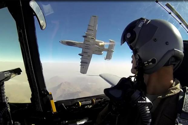 Screen grab from the documentary 'Grunts in the Sky: The A-10 in Afghanistan.'