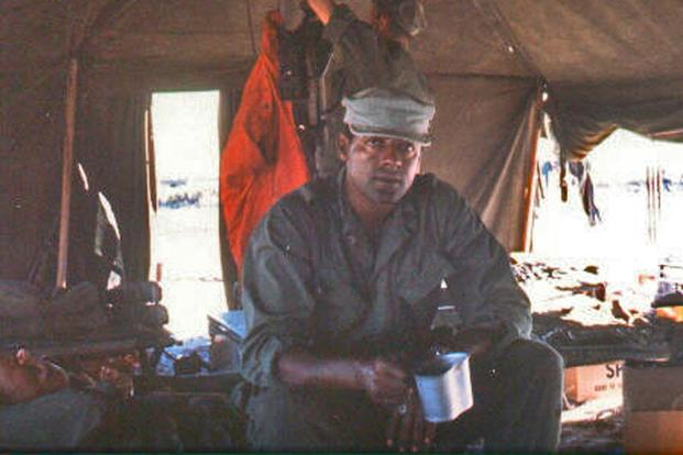 Marine Gunnery Sgt. John Canley, who has received a recommendation from Congress to receive a Medal of Honor for his actions in the Battle of Hue City in 1968. (Image: Alpha Company web site)