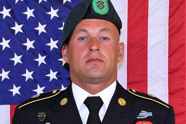 Sgt.1st Class Mihail Golin. (U.S. Army Photo)