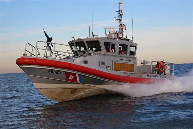 A Coast Guard 45-foot Response Boat - Medium crew. (U.S. Coast Guard photo)
