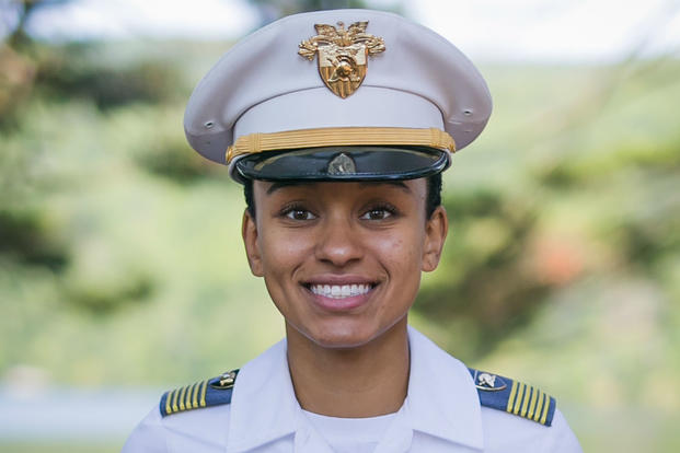 Simone Askew, the first African-American woman to be first captain at West Point.