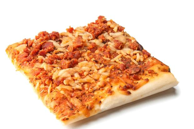 Army researchers have developed an MRE pizza that stays in a pouch for three years without turning soggy or spoiling. (U.S. Army Photo)