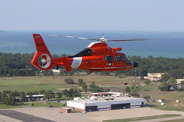 Coast Guard Air Station Traverse City was established in 1946 and is a part of the Coast Guard's Ninth District, situated on the southern end of Grand Traverse Bay in northern Michigan. Since 1995, Air Station Traverse City has controlled and manned air facilities throughout southern Lake Michigan. Its area of operations includes all of Lake Michigan and a greater part of Lake Superior and Lake Huron. Coast guard photo