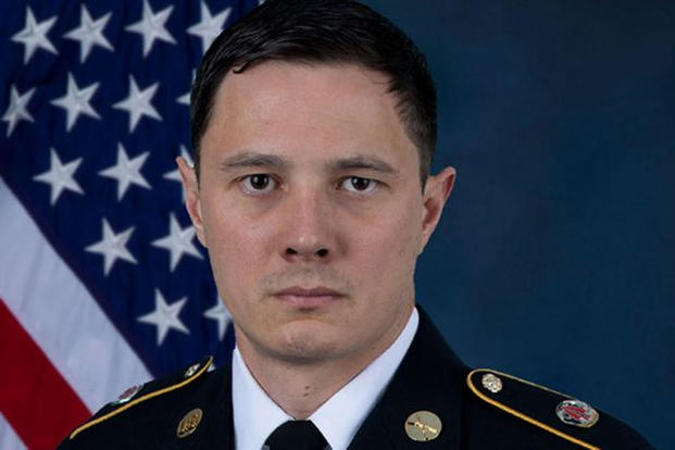 Army Master Sgt. Jonathan J. Dunbar, of Austin, died Friday from injuries suffered when an IED detonated near his patrol in Manbij, Syria, on March 29. (US Army photo)
